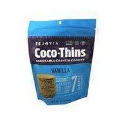Sejoyia Coco Thins Vanilla Cookies