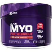 EAS Myoplex Pre-Workout Red Apple EAS Myoplex Pre-Workout Dietary Supplement Red Apple Powder Powder Pack