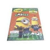 Crayola Minions Googly Eye Color Book