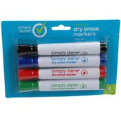 Simply Done Chisel Tip Dry Erase Markers