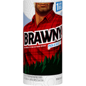 Brawny Paper Towels, Pick-A-Size, Large Roll, 2-Ply