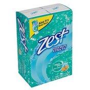 Zest Bar Soap, Aqua Pure, with Vitamin E