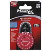 Master Lock Set & Reset Your Own Combination, Card