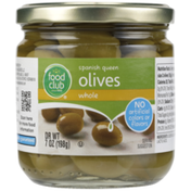 Food Club Spanish Queen Whole Olives
