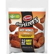 Tyson Anytizers Buffalo Style Bone In Chicken Wings, Frozen
