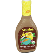 Annie's Lite Honey Mustard Vinaigrette Salad Dressing, Certified Organic