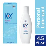 K-y® Liquid Personal Based Lubricant, Premium Natural Feeling Water-Based Lube For Men, Women & Couples