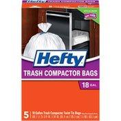 Hefty Twisttie With Twist Ties, Trash Compactor Bags