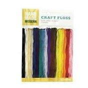 Hand Made Modern Craft Floss 100% Cotton Skeins