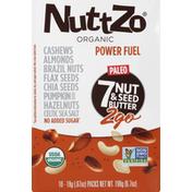 NuttZo 7 Nut & Seed Butter, 2Go, Organic, Power Fuel