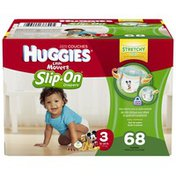 Huggies Supreme Little Movers Slip-On Size 3 Diapers