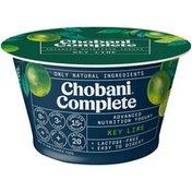 Chobani Complete Greek Yogurt Key Lime