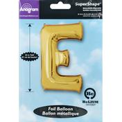 Anagram Foil Balloon, E, SuperShape