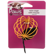 Paws Happy Life Wire Cage With Mouse For Cats