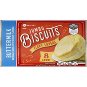 Southeastern Grocers Biscuits, Buttermilk, Flaky Layers, Jumbo