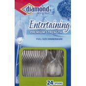 Diamond Spoons, Premium Strength, Entertaining, Box