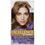 L'Oreal Hair Color, Ultra Ash Light Brown, 6UA