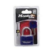 Master Lock Blue Covered Brass Padlock