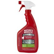 Nature's Miracle Advanced Lemon Scented Dog Stain & Odor Remover Spray