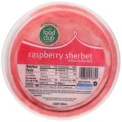 Food Club Raspberry Sherbet