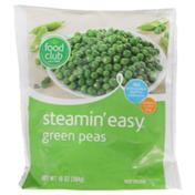 Food Club Steamin' Easy, Green Peas