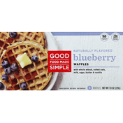 Good Food Made Simple Waffles, Blueberry
