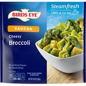 Birds Eye Broccoli, Cheesy, Sauced, Steamfresh