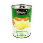 Essential Everyday Bartlett Pear Slices In Pear Juice From Concentrate