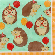 Party Creations Napkins, Hedgehog Party, 2 Ply