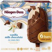 Haagen-Dazs Vanilla Milk Chocolate Ice Cream Bars