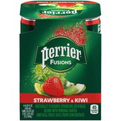 PERRIER Fusions Strawberry & Kiwi Flavor