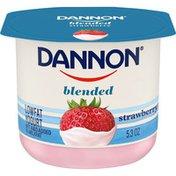 Dannon Blended Strawberry Lowfat Yogurt