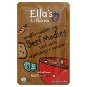 Ella's Kitchen Beef Medley, with Vegetables + Potatoes, 3 (from 10 Months)