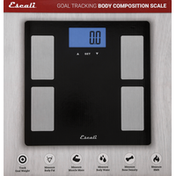 Escali Body Composition Scale, Goal Tracking