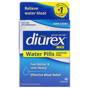 Diurex Max, Maximum Strength Caffeine-Free Water Pills