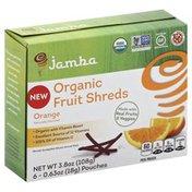 Jamba Fruit Shreds, Orange, Organic, Box