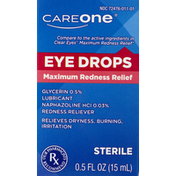 CareOne Redness Relief Eye Drops