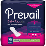Prevail Incontinence Liners,Very Light Absorbency, Regular Length