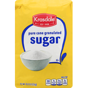 Krasdale Sugar, Pure Cane Granulated
