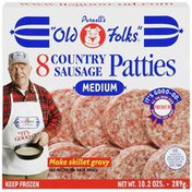 Purnell's Old Folks Medium Patties Country Sausage