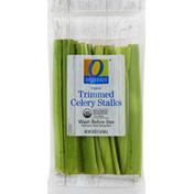 O Organics Celery Stalks, Organic, Trimmed