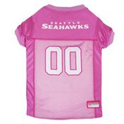 Pets First Extra Small Pink NFL Seattle Seahawks Jersey