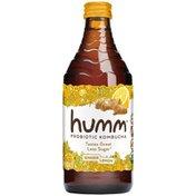 Humm Kombucha Probiotic Ginger Lemon