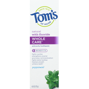 Tom's of Maine Toothpaste, Peppermint, Anticavity