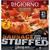 DiGiorno Sausage & Cheese Stuffed Crust The Carnivore Frozen Pizzas