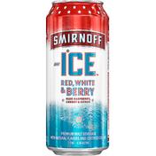 Smirnoff Beer, Red, White & Berry