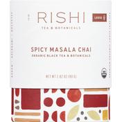 Rishi Tea Black Tea, Organic, Spicy Masala Chai, Loose