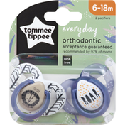 Tommee Tippee Pacifier, Everyday, 6-18 Months