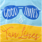 Party Creations Napkins, Summer Sayings Good Times, 2 Ply