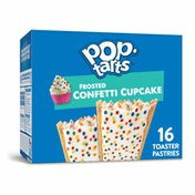 Kellogg's Pop-Tarts Toaster Pastries, Breakfast Foods, Baked in the USA, Frosted Confetti Cupcake